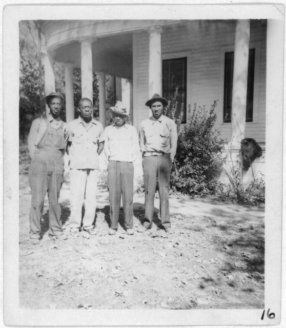 [Angelina Four of Kelty's Lumber Co., Lufkin, Texas]