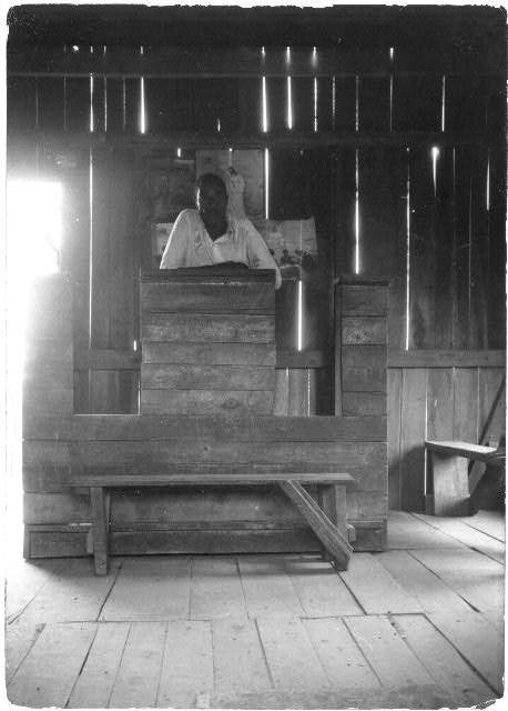 [Baptist preacher, Alma Plantation, False River, Louisiana]