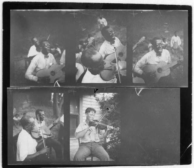 [Portraits of Stavin' Chain and Wayne Perry performing, Lafayette, La.]