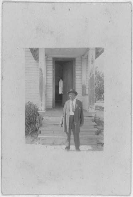 [Rev. Haynes, full-length portrait, Eatonville, Florida]