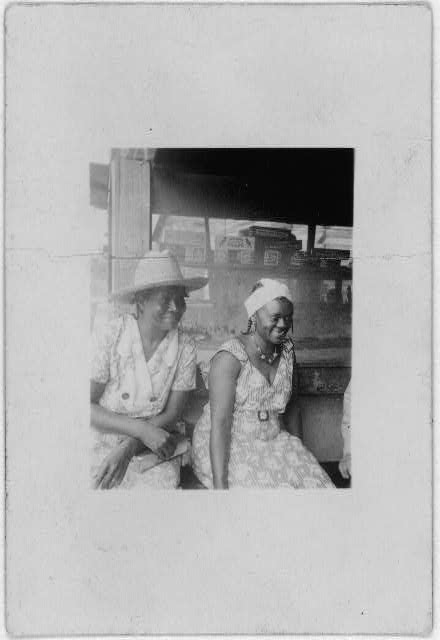 [Two African American women, Belle Glade, Florida]