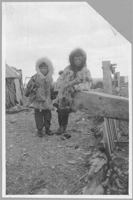 [Two Eskimo boys]