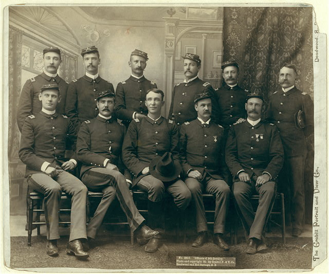 """Officers of the 9th Cavalry"""