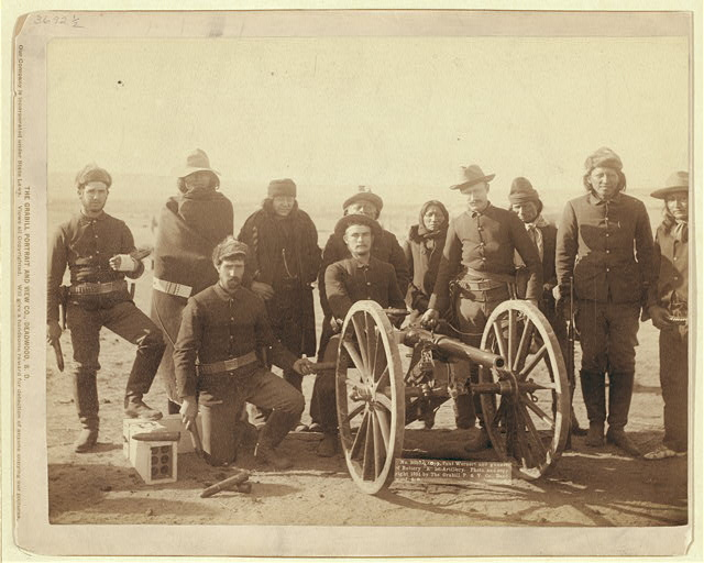"Copr. Paul Wernert [i.e. Weinert] and gunners of Battery ""E"" 1st Artillery"
