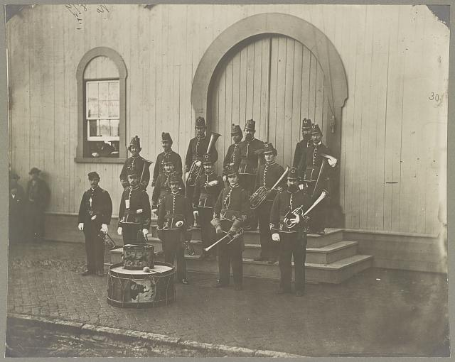 Band of 9th & 10th Veterans Reserve Corps, Wash. D.C. Apr. 1865