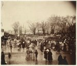 Crowd at Lincoln's second inauguration, March 4, 1865 (1865)