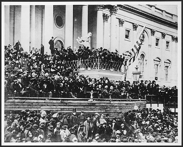Lincoln&#39;s second inaugural