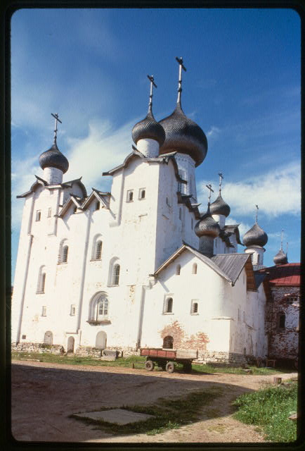 Monastery, Cathedral of the Transfiguration (1558-66), southeast view, Solovetskii Island, Russia