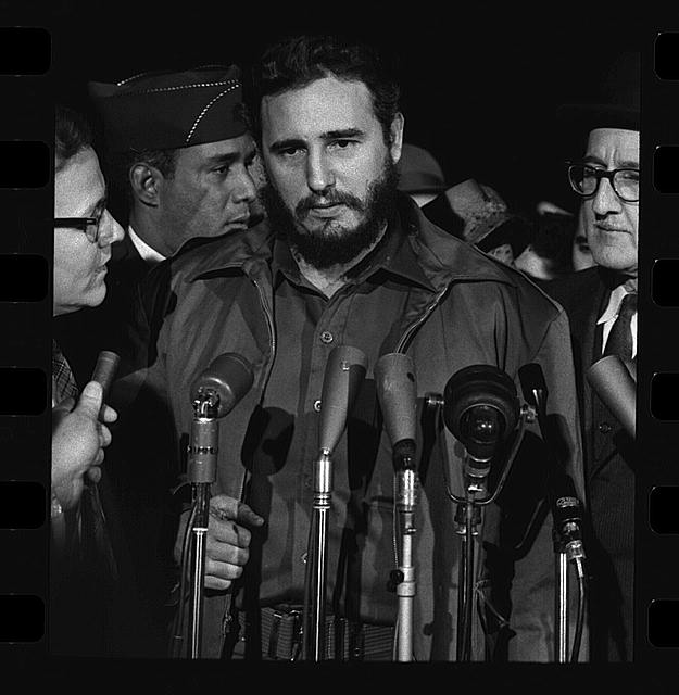 [Fidel Castro arrives MATS Terminal, Washington, D.C.]