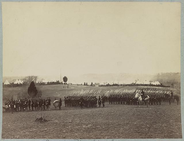 Camp of 2d Rhode Island Infantry