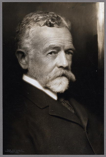 [Senator Henry Cabot Lodge, head-and-shoulders portrait, facing right]