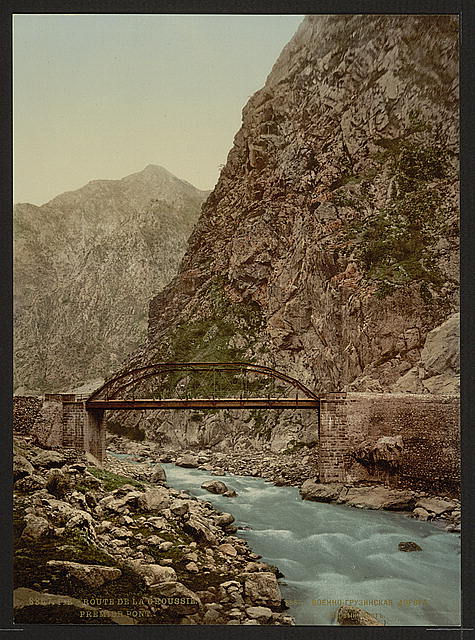 [The road, the first bridge, Groussie, (i.e., Georgia), Russia]