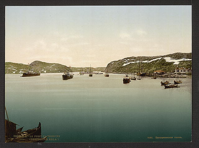[General view, Port Catherine, Kola Peninsula, Russia]