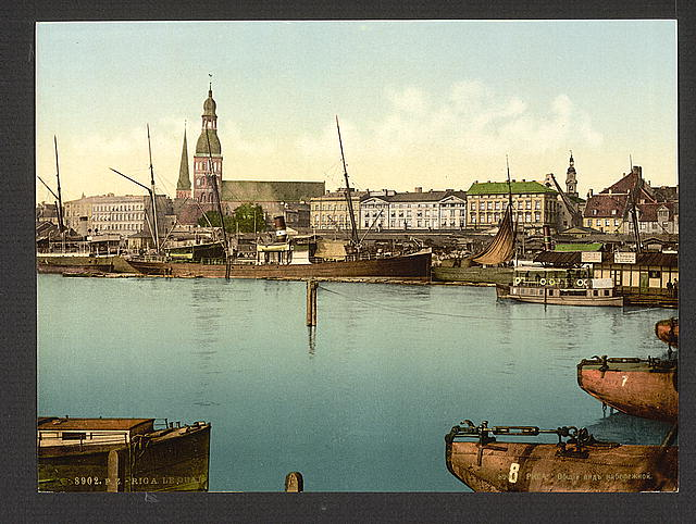 [The quay, Riga, Russia, (i.e., Latvia)]