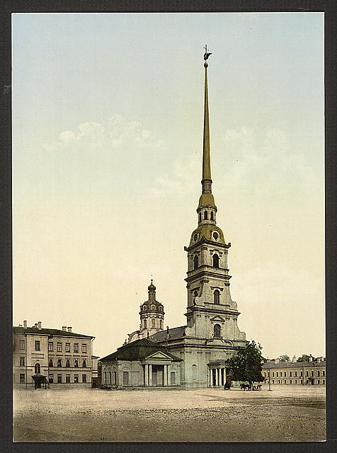 [Cathedral of SS, Peter and Paul, St. Petersburg, Russia]