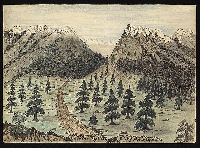 Cherokee Pass, Rocky Mountains