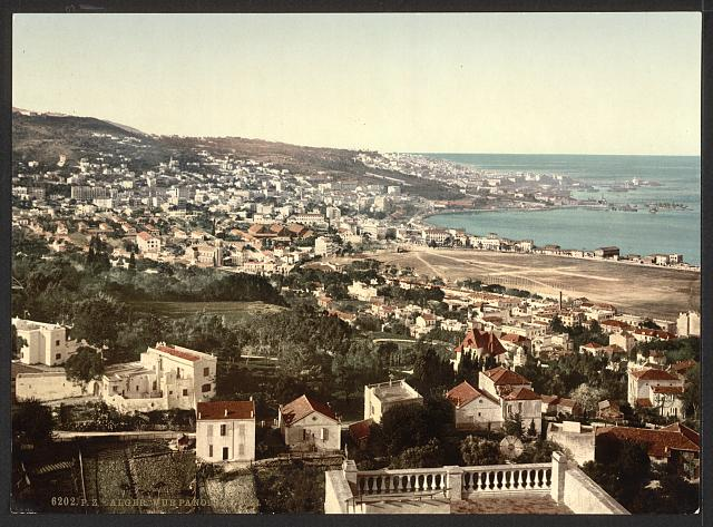 [General view from Mustapha, I, Algiers, Algeria]