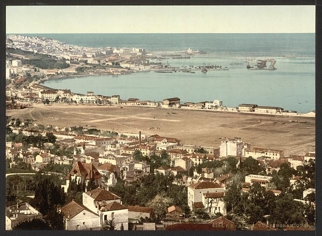[General view from Mustapha, II, Algiers, Algeria]
