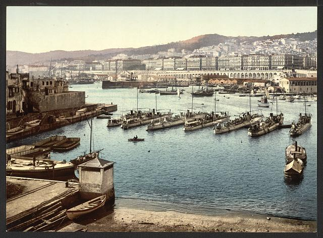 [From the admiralty, Algiers, Algeria]