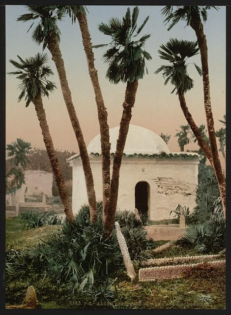 [The cemetery, with chapel, Algiers, Algeria]