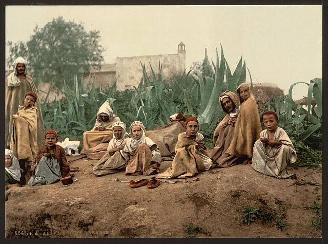 [Group of Arabs, Algiers, Algeria]