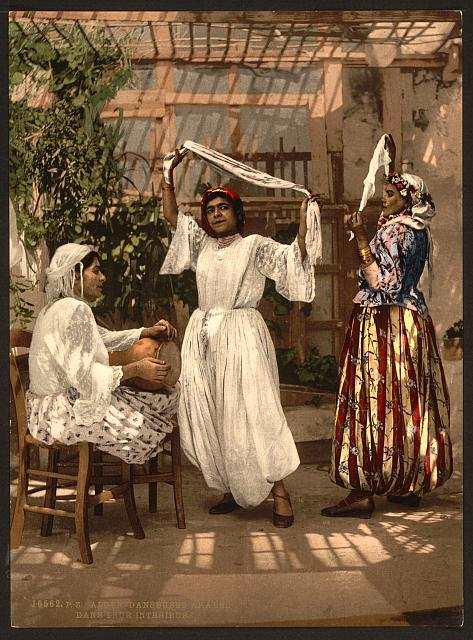 [Arab dancing girls, Algiers, Algeria]