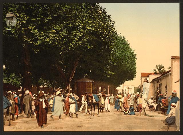 [Arab market, Blidah, Algeria]