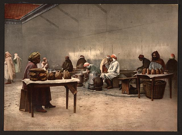 [Merchants of eatables, Bona, Algeria]