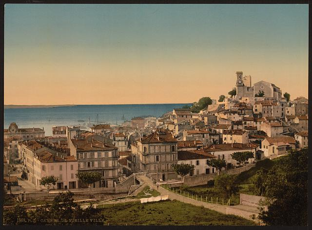 [The old town, Cannes, Riviera]