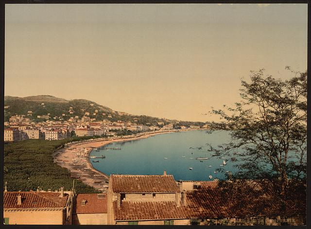 "[From ""Mont Chevalier,"" Cannes, Riviera]"