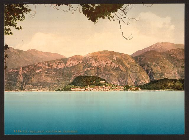 [Bellagio, general view, Lake Como, Italy]