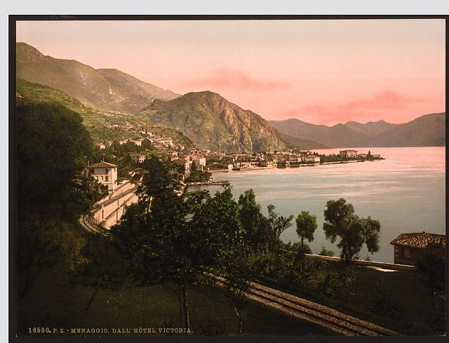 [Menaggio, general view, Lake Como, Italy]