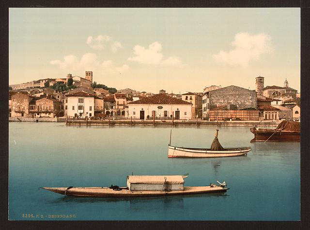 [General view, Desenzano, Lake Garda, Italy]