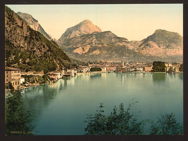 [General view, Riva, Lake Garda, Italy]