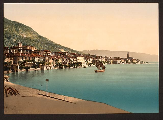 [General view, Salo, Lake Garda, Italy]