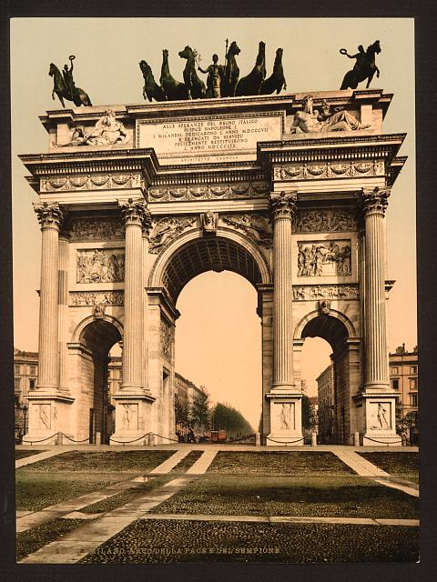 [The Arch of Peace, Milan, Italy]