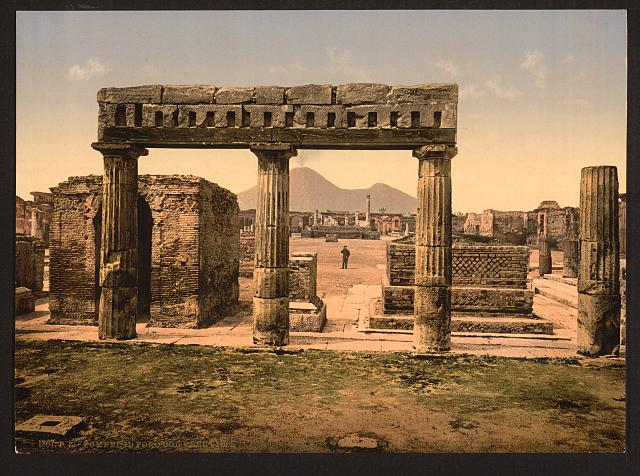[The Forum, Pompeii, Italy]