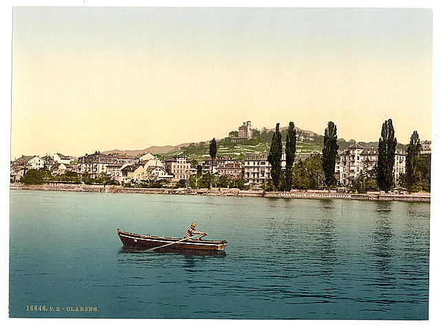 [Clarens, general view, from the Lake, Geneva Lake, Switzerland]