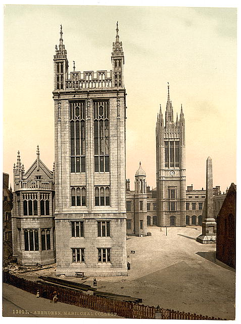 [Marischal College, Aberdeen, Scotland]