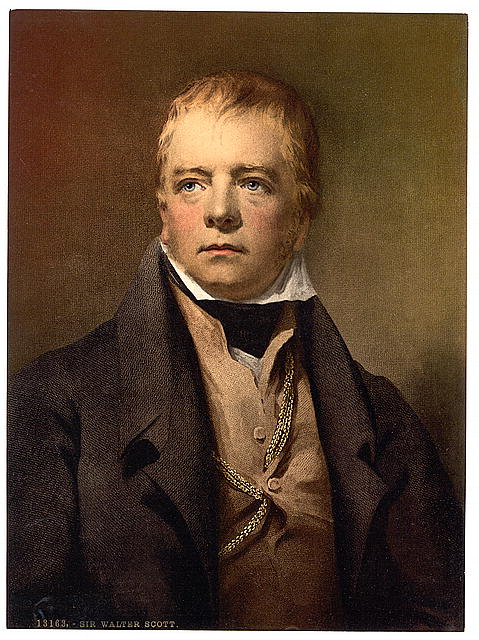 [Portrait of Sir Walter Scott]