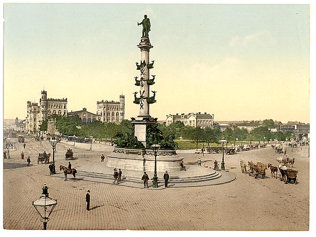 [The Praterstern, Vienna, Austro-Hungary]