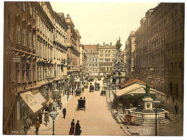 [The Graben, Vienna, Austro-Hungary]