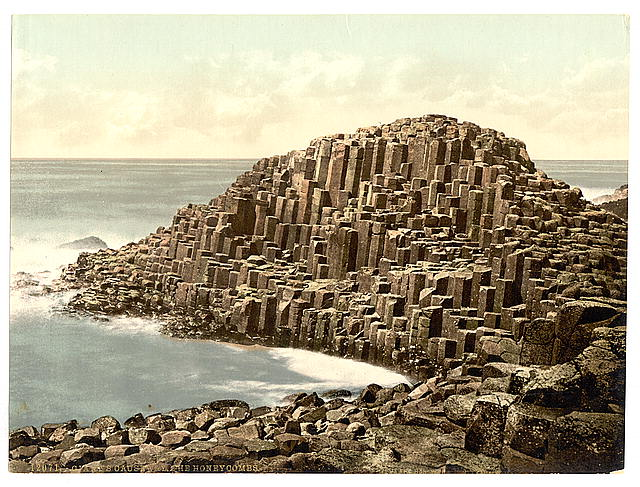 [The Honeycombs, Giant's Causeway. County Antrim, Ireland]