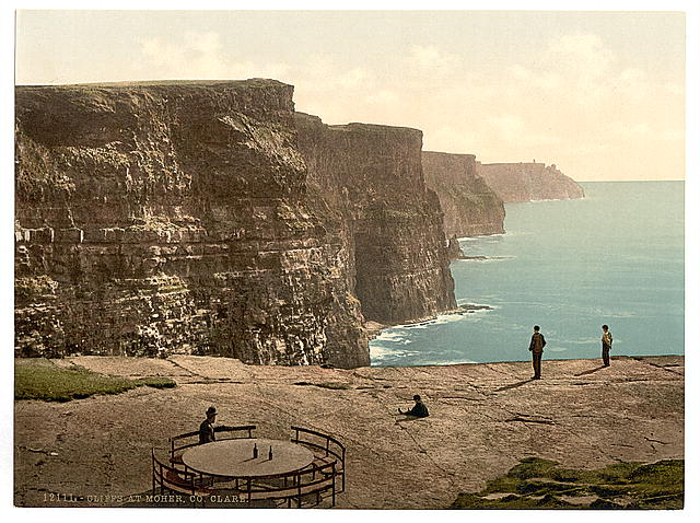 [Cliffs at Moher. County Claire. (i.e. Clare), Ireland]