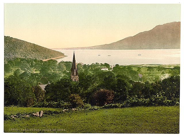 [Carlingford Lough. County Down, Ireland]