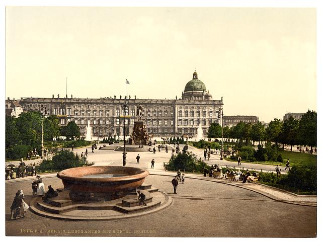 [Royal Palace and Pleasure Garden, Berlin, Germany]