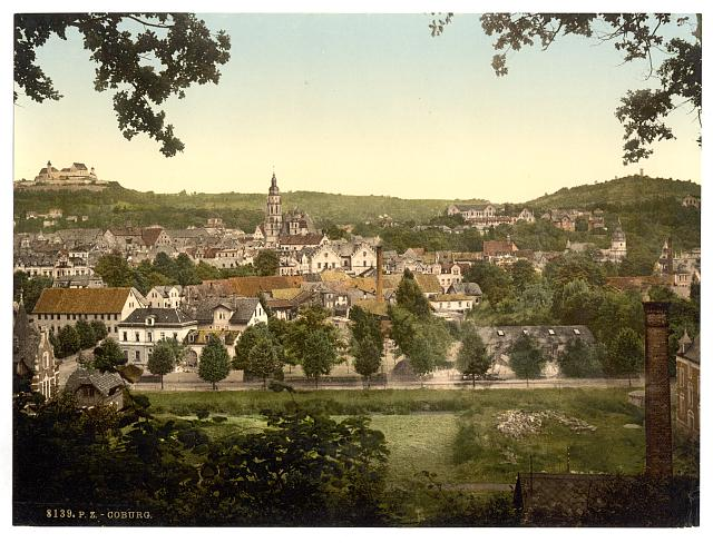 [General view, Coburg, Thuringia, Germany]