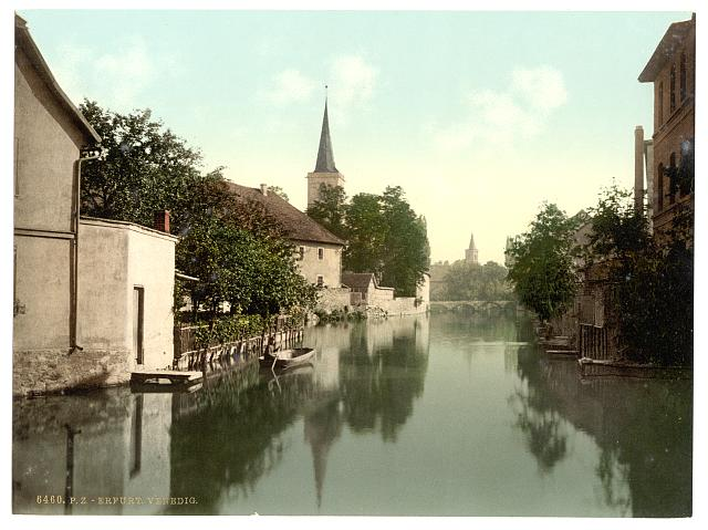 [General view, Erfurt, Thuringia, Germany]