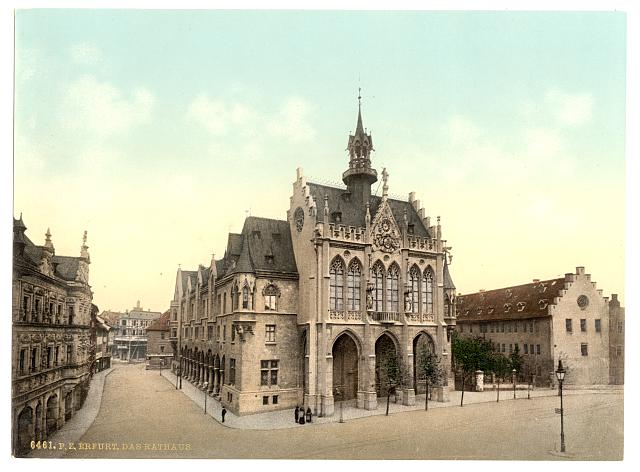 [Town hall, Erfurt, Thuringia, Germany]