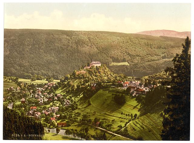 [Schwarzburg, from Trippstein, Thuringia, Germany]